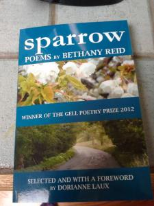 Winner of the Gell Poetry Prize 2012